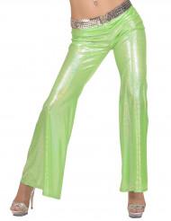 Gröna holografiska discobrallor - Maskeraddräkt för vuxna