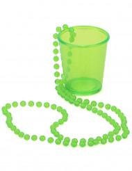 Grönt shotglas till St.Patrick