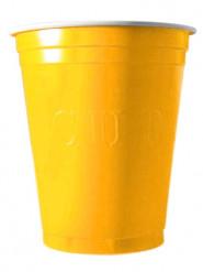 20 gula plastmuggar 530 cl