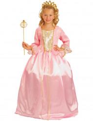 Lyxig rosa prinsessdräkt för barn
