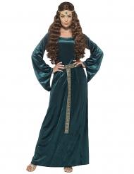 Drottning Grönbete damdräkt