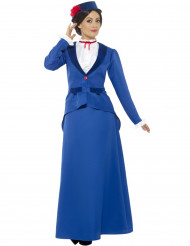 Viktoriansk barnsköterskedräkt dam