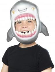 Hajens munsbit - Maskeradmask för barn