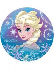 Tårtbild av Elsa™ från Frost™ 20 cm