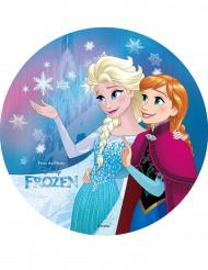 Tårtbild från Frost™ - Anna och Elsa™ 20 cm