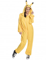 Kostym Pikachu Pokemon™ för vuxna