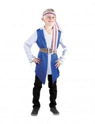 Blå piratgosse - Maskeraddräkt för barn