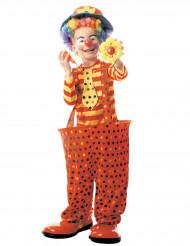 Clowndräkt för barn med tunnband