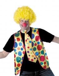 Prickig clownväst för vuxna