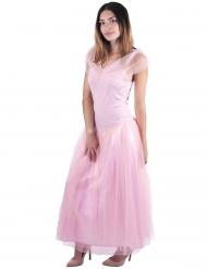 Lång prinsessklänning för vuxna