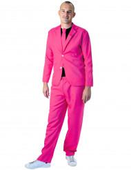 Trendig rosa kostym - Maskeraddräkt för vuxna