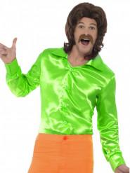 Grön discoskjorta - Maskeraddräkt för vuxna