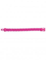 Rosa blixtlåsarmband