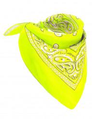 Neongul scarf - Maskeradtillbehör