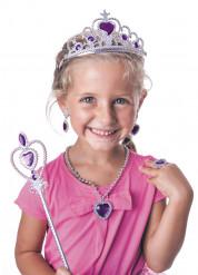 Violettprinsessa - Maskeradkit till kalaset