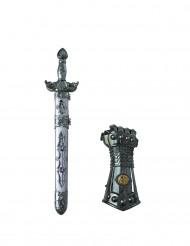 Svärd och riddarhandske