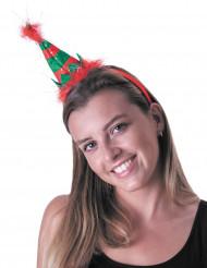 Liten alvhatt på diadem för vuxna till jul