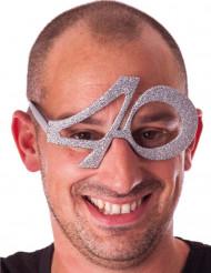 Glittriga glasögon 40 år