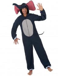 Elefant - Maskeradkläder för vuxna till temafesten