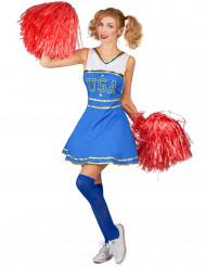 USA Cheerleader-dräkt - Maskeraddräkt för vuxna