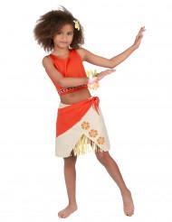 Polynesisk hjältinna - Maskeraddräkt för barn