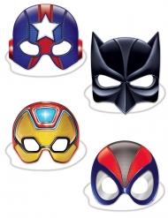 Superhjälte masker i kartong
