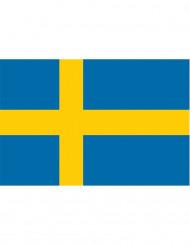 Svensk supporterflagga 90 x 150 cm