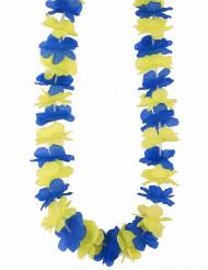 Hawaii-halsband i Sveriges färger