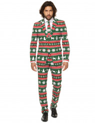 Mr. Festlig i grönt - Kostym för vuxna från Opposuits™
