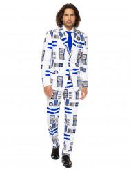 Mr. R2D2 Star Wars™ kostym från Opposuits™ för vuxna