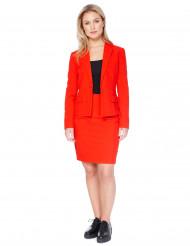 Mrs. Röd Opposuits™ - Kostym i damstorlek