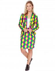Mrs.Harlekin Opposuits™ - Kostym i damstorlek