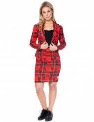 Mrs. Tartan Opposuits™ - Kostym i damstorlek