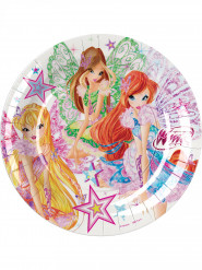8 tallrikar Winx Butterflix™ 23 cm