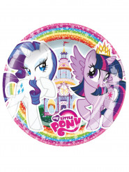 8 Små My Little Pony™ tallrikar 18 cm