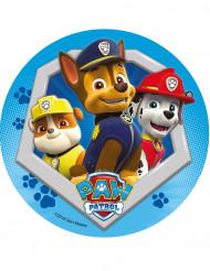 Paw Patrol™ - Tårtbild i blått till kalaset