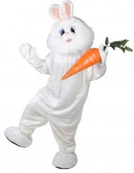 Kanin med jättehuvud - Maskotdräkt i vuxenstorlek
