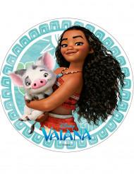 Vaiana™ tårtbild 20 cm