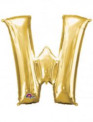 Aluminium ballong i form av W