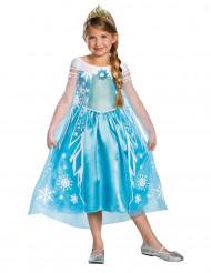Elsa från Frost™ lyxig maskeraddräkt för barn