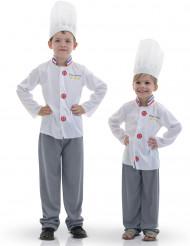 Mästerkock maskeraddräkt för barn