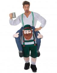 Min starke vän från Bayern - Carry me-dräkt för vuxna