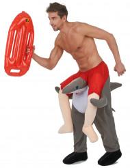 Hajtämjare - Carry me-dräkt för vuxna