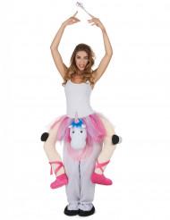 Ballerina på enhörning - Maskeraddräkt för vuxna