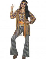 Janis Hippie - Maskeradkläder för vuxna