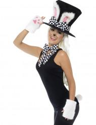 Kanin med cylinderhatt - Tillbehörskit till maskeraden