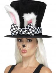 Trollkarlshatt med kaninöron vuxen