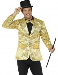 Kostym med gyllene paljetter - Lyxiga maskeradkläder för vuxna