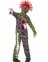 Horrorclown - Halloweenkostym för barn
