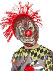 Horrorclown - Maskeradmask till Halloween för barn